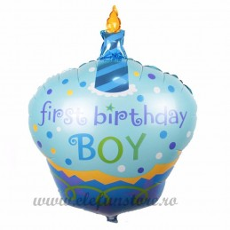 Balon Briosa First Birthday Boy
