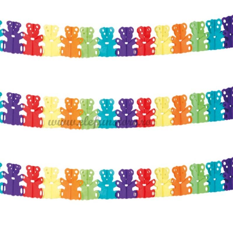 Ghirlanda cu ursuleti multicolori