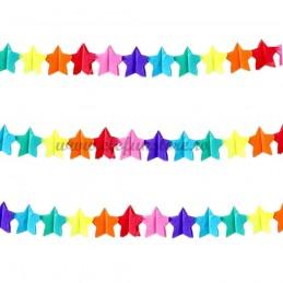 Ghirlanda cu stelute multicolore