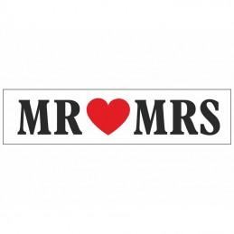 Placuta MR & MRS pt Masina Mirilor
