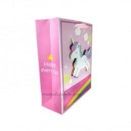Punga Cadou Unicorn 3D 32cm