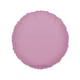 Balon Rotund Roz Metalizat 45cm