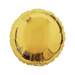 Balon Rotund Auriu Metalizat 45cm