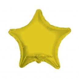 Balon Stea Aurie Metalizata 45cm