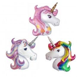 Balon Unicorn Magic Pink 120cm