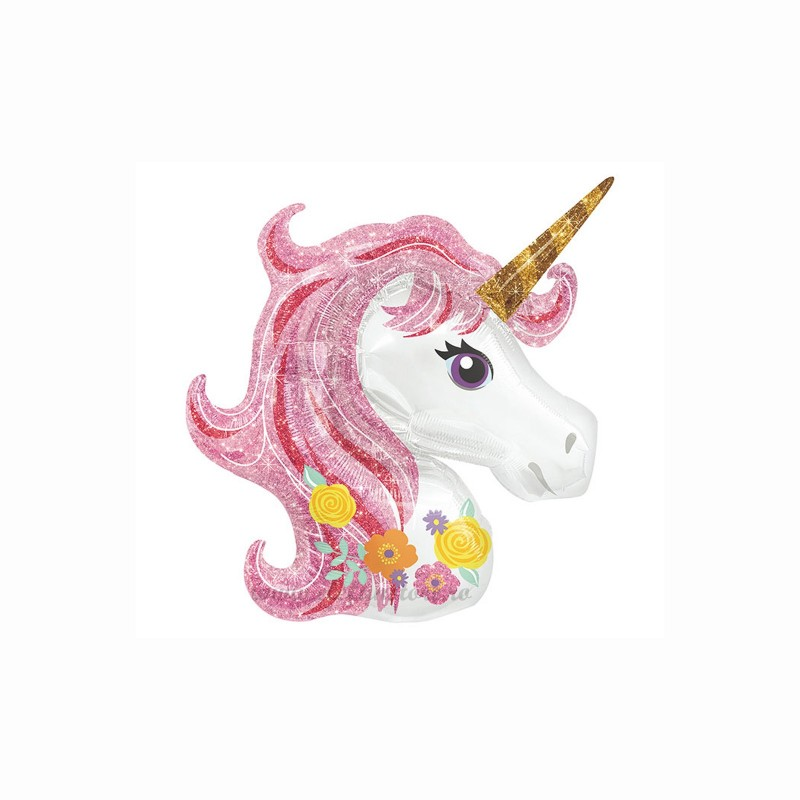 Balon Mini Unicorn Magic Pink