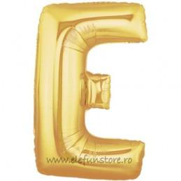"Balon ""Litera E"" Gold"