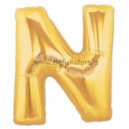 """Balon """"Litera M"""" Gold"""