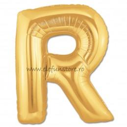 """Balon """"Litera Q"""" Gold"""