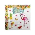 Set 10 servetele Flamingo