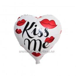 Balon Inima Kiss Me