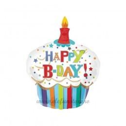 Balon Mini Briosa Happy Birthday 49cm
