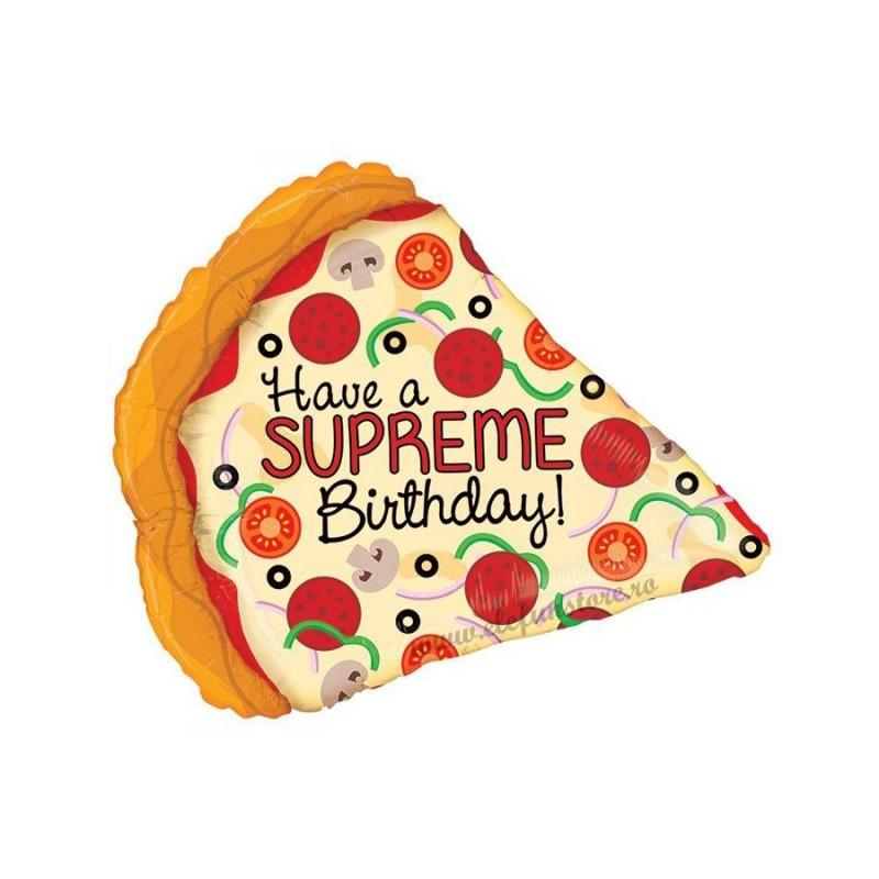 Balon Felie de Pizza 56 cm
