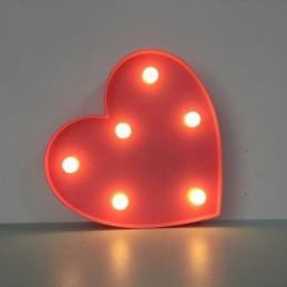 Decoratiune LED Inima