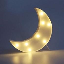 Decoratiune LED Semiluna
