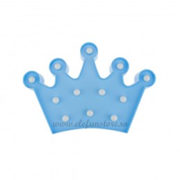 Decoratiune LED Coroana Bleu