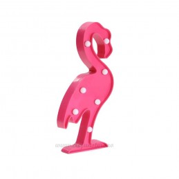 Decoratiune LED Flamingo