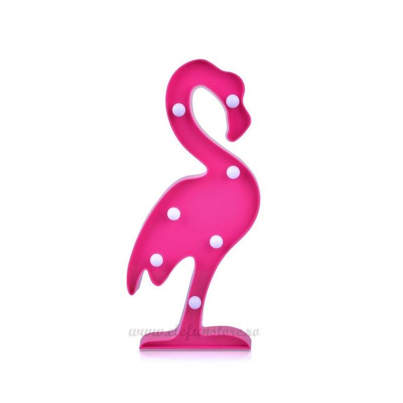 Decoratiune LED Flamingo