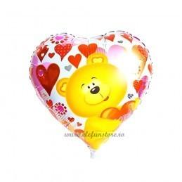 Balon Inima Bear