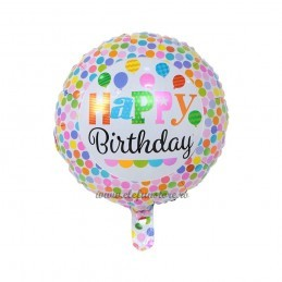 Balon Cu Buline Happy Birthday