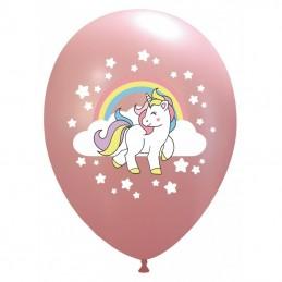 Set 10 baloane Unicorn