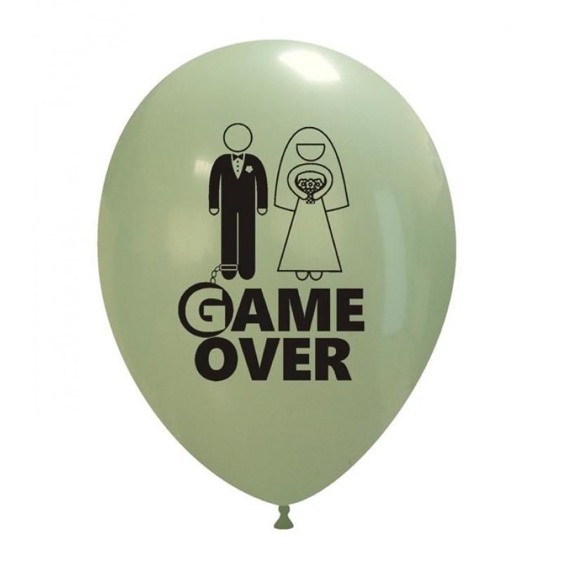 Set 10 baloane Game Over