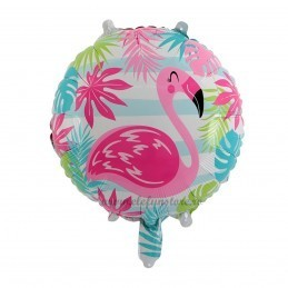 Balon Rotund Flamingo