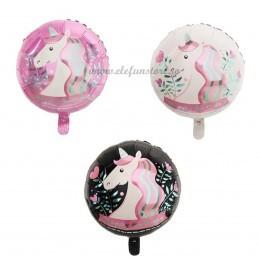 Balon Unicorn Party Negru