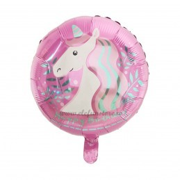 Balon Unicorn Party Roz