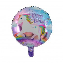 Balon Unicorn Happy Birthday