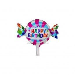 Balon Mini Bomboana Happy Birthday