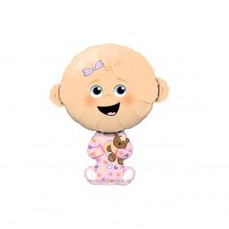 Mini Balon Bebe Fetita