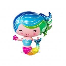 Balon Sirena Blue 72cm