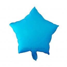 Balon Stea Bleu Neon 45cm