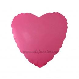 Balon Inima Roz Neon