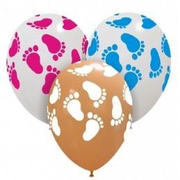Set 10 baloane Piciorus Fetita