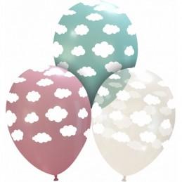 Set 10 baloane Roz Norisori