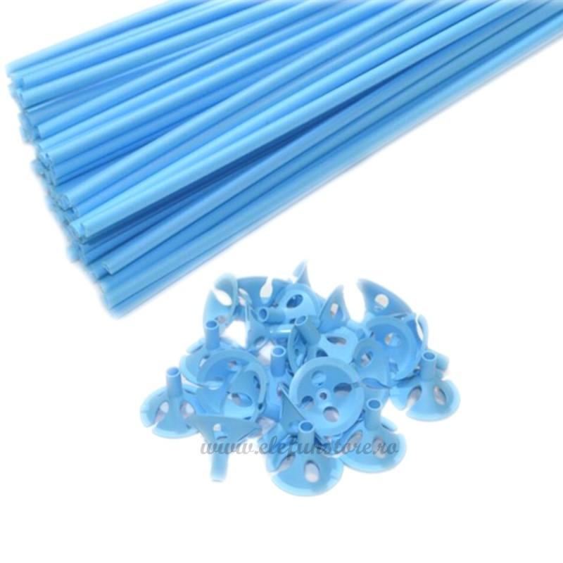 Set 10 Bete + Rozete Bleu