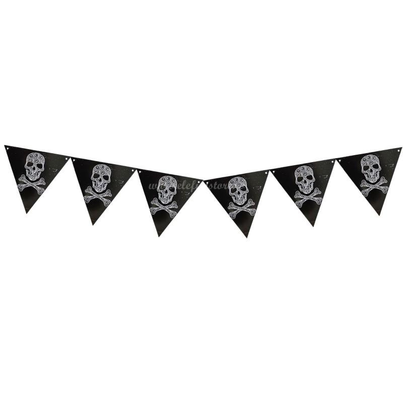 Banner Halloween Craniu