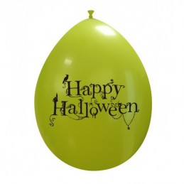 Set 10 baloane Happy Halloween