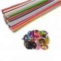 Set Bete + Rozete Multicolore