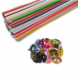 Set 10 Bete + Rozete Multicolore