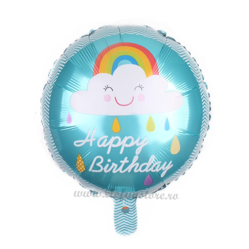Balon Happy Birthday Norisori