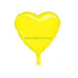 Balon Inima Galbena Macaron