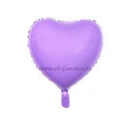 Balon Inima Lila Macaron