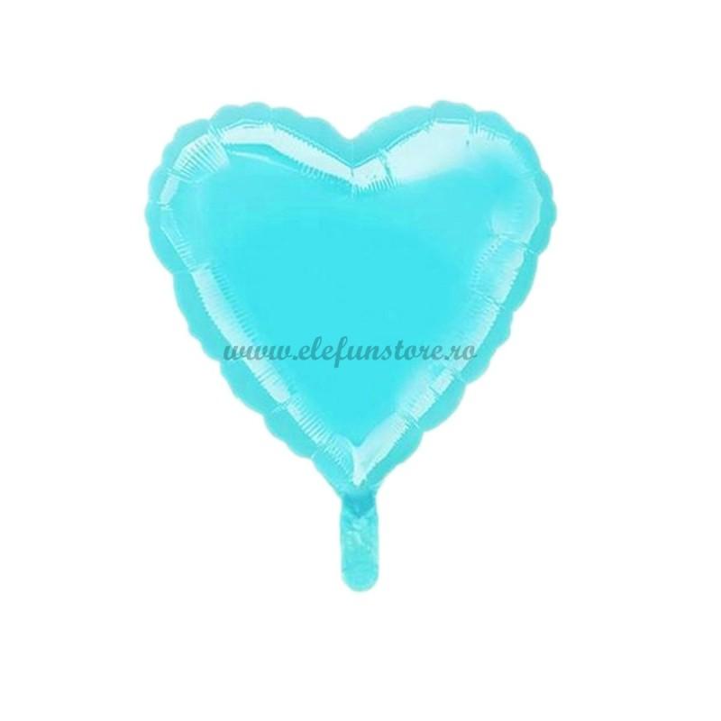 Balon Inima Bleu Macaron