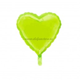 Balon Inima Verde Macaron