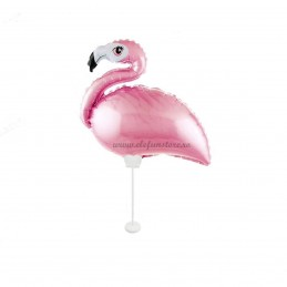 Balon Mini Flamingo cu Bat