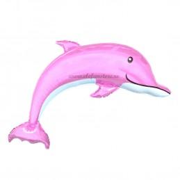 Balon Delfin Roz 116 cm