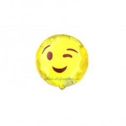 Mini Balon Emoticon Wink